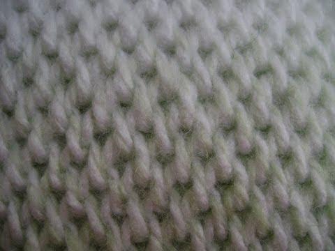 Crochet - Afghan or Tunisian Crochet Waffle Stitch