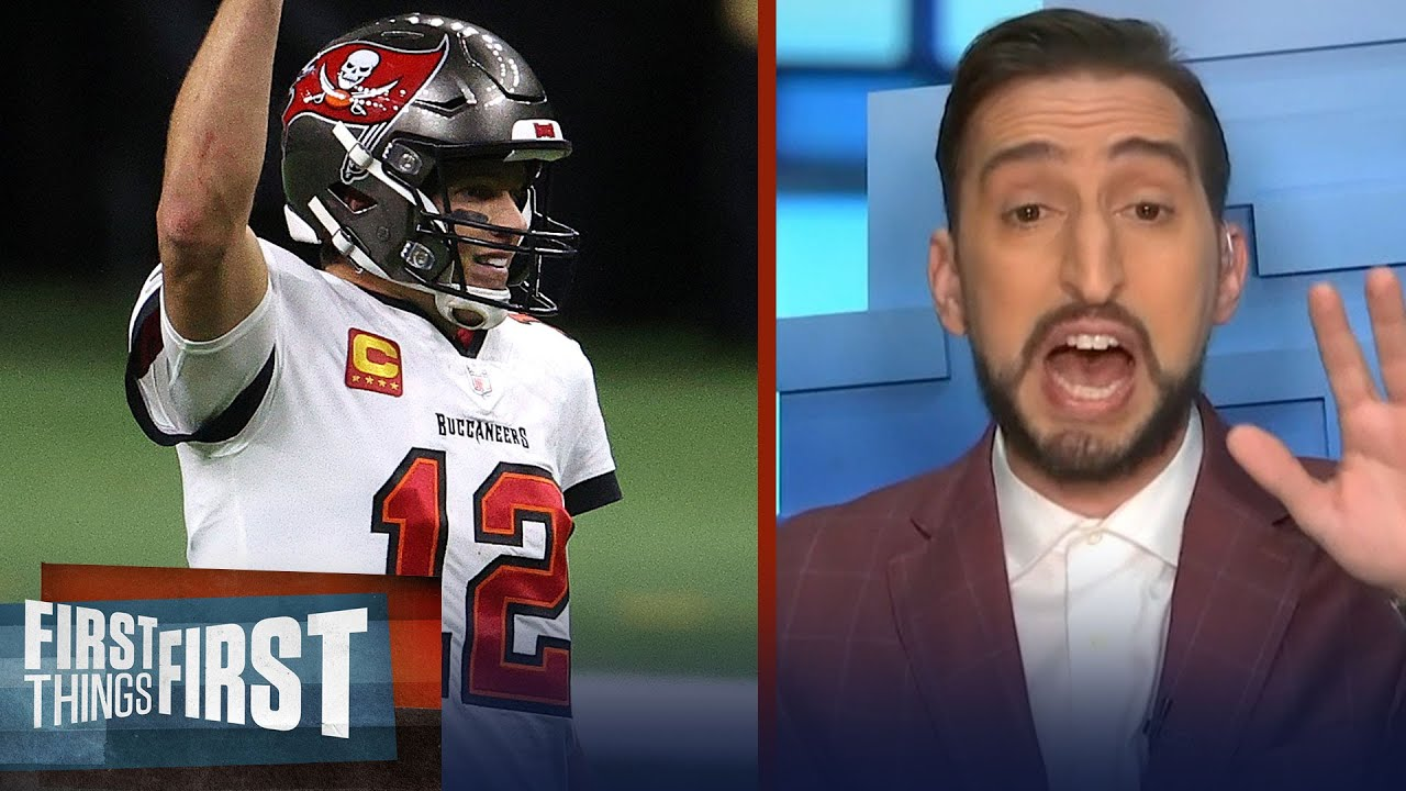 Bucs defeat Saints in NFC Divisional; Brady's stamina at 43 is remarkable | FIRST THINGS FIRST