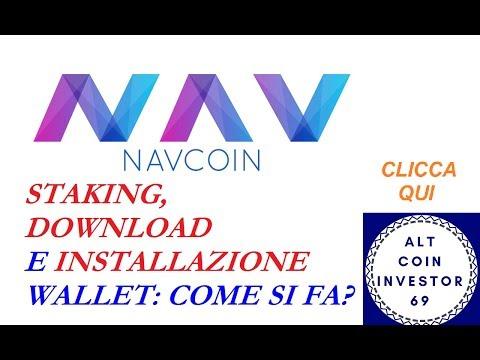 NAVCOIN 02 CRYPTO: DOWNLOAD, INSTALLAZIONE E STAKING DEL WALLET PASSO PASSO - ITA #VIDEORIPETIZIONI