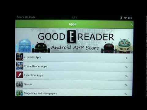 Good e-Reader App Store Overview