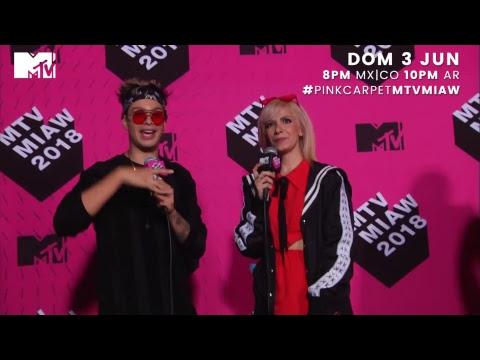 MTV MIAW 2018 PINK CARPET