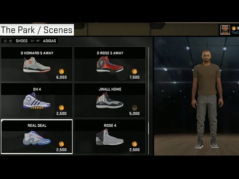 Nba 2k15 | MyCareer Nike Jordan Shoes Tattoos Glasses All Accessories For Park