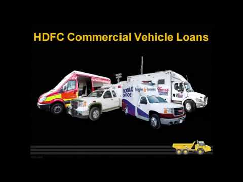 HDFC Bank  Commercial Vehicle Loans, Apply for HDFC Bank  Vehicle LoanS in India -   Logintoloans