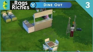 The Sims 4 Dine Out  Rags To Riches  Part 3