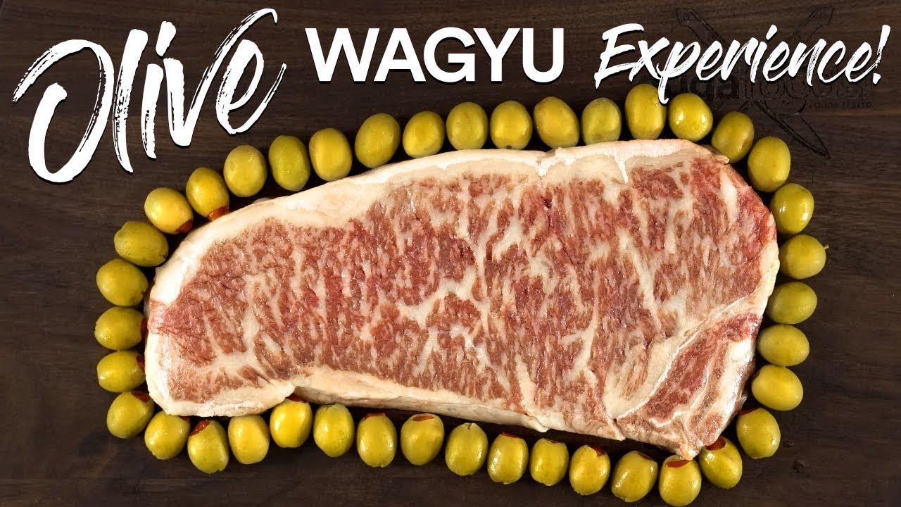 World's RAREST STEAK Olive Wagyu vs Japanese A5 WAGYU Beef!