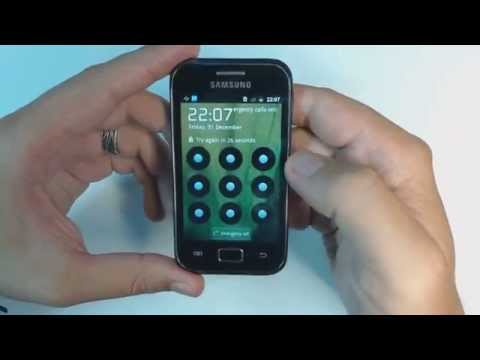 Samsung Galaxy Ace Plus S7500 hard reset