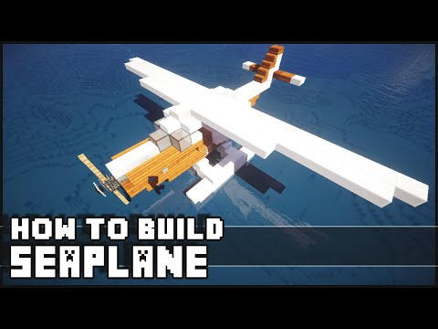 ► Minecraft : How to Make - Plane