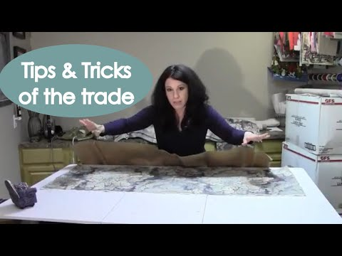Board Mounted Window Valance (how to make) - Renee Romeo