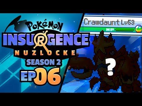 MEGA CRAWDAUNT APPEARS!! - Pokémon Insurgence Nuzlocke (Episode 6)