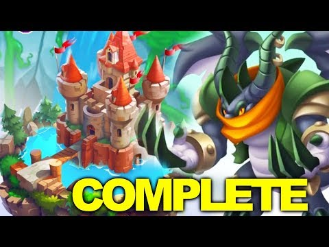 Dragon City - Dragon Wars Island Full Complete Key Guide