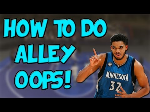NBA 2K17 | How To Perform Alley-Oops!