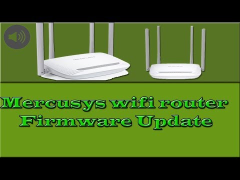 Mercusys wifi Router Firmware Update