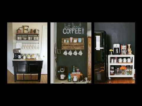 50+ Home Coffee Bar Ideas - DIY Home Decor Inspiration