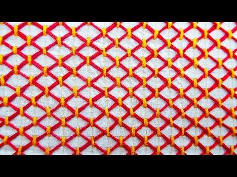 hand embroidery latest nakshi kantha tutorial video by bornali creation| bangladeshi nakshi katha