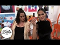 The Bella Twins' competitive Hot Wheels race on an epic track at Mattel's headquarters (Who wins?!)