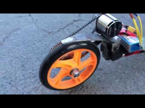 DIY E-scooter Test Drive