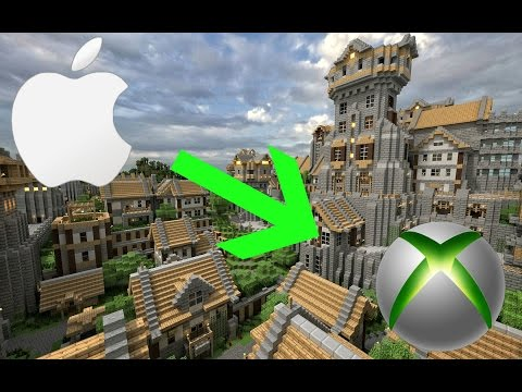 How to get custom downloaded Minecraft maps from your Mac to your Xbox