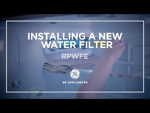 RPWFE Water Filter Replacement for GE Refrigerators