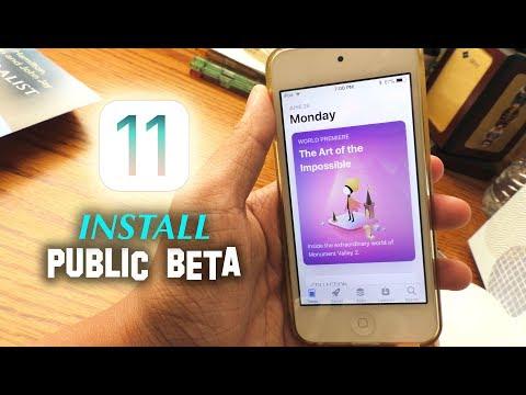 How to Install iOS 11 Public Beta