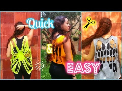 How to: Cut out gym shirts | Rossi ♥