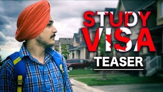 STUDY VISA | Song Teaser | Gurdil | Latest Punjabi Songs 2017 | Yellow Music
