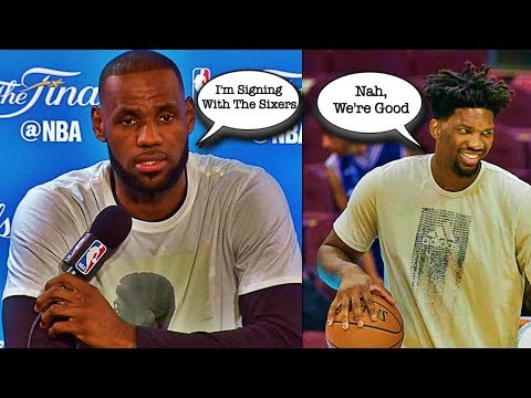 Why The 76ers SHOULD NOT Sign LeBron James This Summer