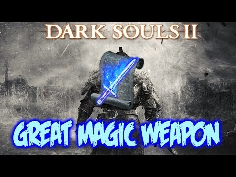 Dark Souls 2 - How To Get Great Magic Weapon (Spell)