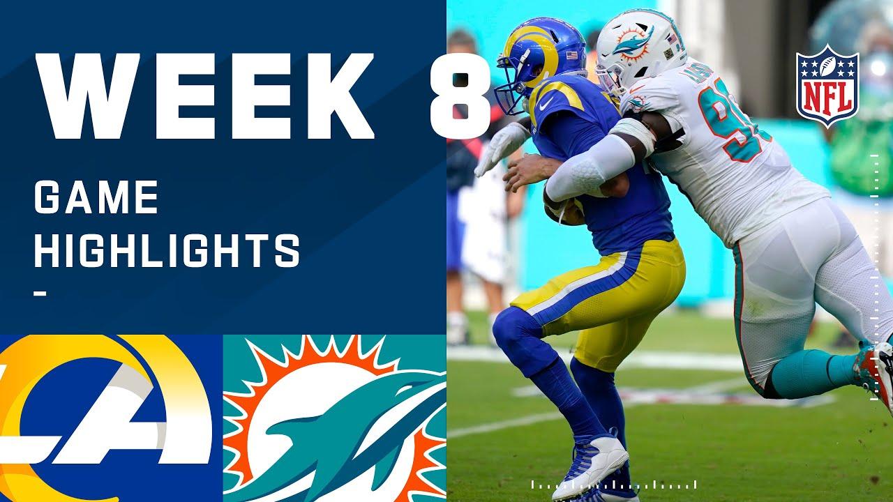 Rams vs. Dolphins Week 8 Highlights | NFL 2020