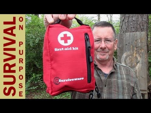 Best First Aid Kit I've Tried - Surviveware 1st Aid Kit