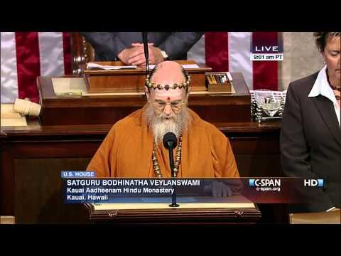 Satguru Bodhinatha Veylanswami Gives Opening Prayer in US House of Representatives