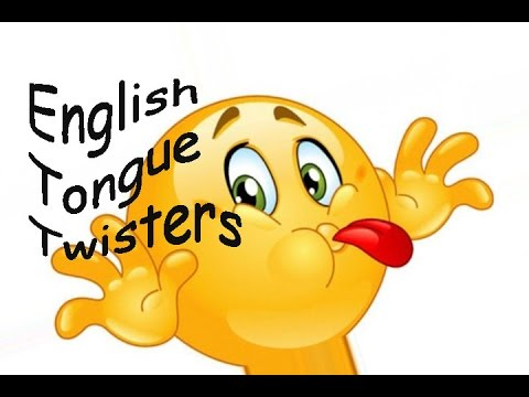 Wonderful Tongue Twisters !!! English Tongue Twisters -pronunciation practice (vowels )