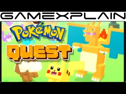 We're Playing Pokémon Quest RIGHT NOW! (Nintendo Switch)