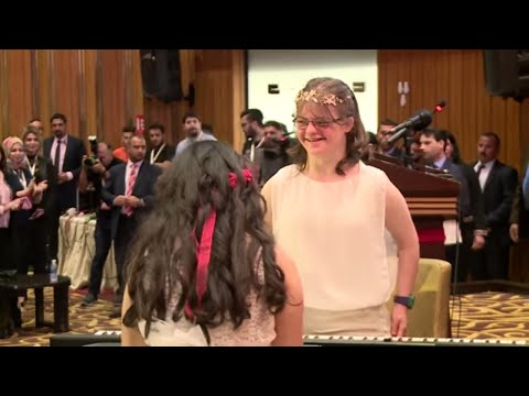 Young music talents | Deema Zaid & Dania Saad | TEDxYouth@Baghdad