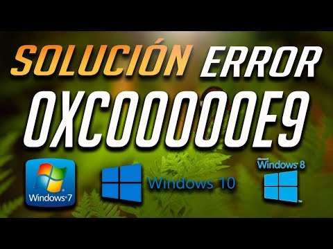 Solución al Error 0xc00000e9 En Windows 10/8/7 - [Tutorial 2019]