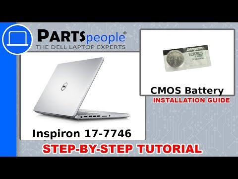 Dell Inspiron 17-7746 (P24E002) CMOS Battery How-To Video Tutorial
