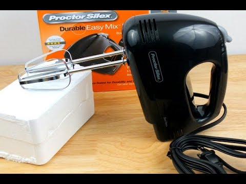 Proctor Silex Hand Mixer : Review/Unboxing
