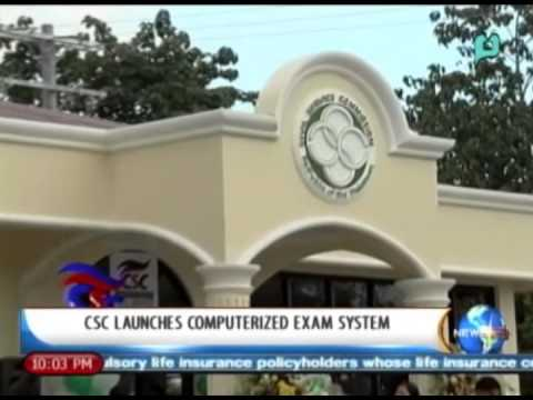 NewsLife: CSC launches computerized exam system