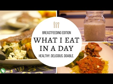 What I Eat In A Day | Breastfeeding Mom of 2