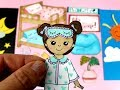 Download 🏠🛏DIY Paper doll quiet book  paper crafts  Dress up Bunkbed bedroom drawing and playing for kids MP3,3GP,MP4