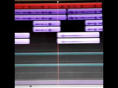 Editing vocals on GarageBand 2018
