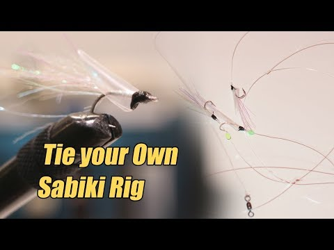 Tie your own Sabiki Rig - Winter fishing project