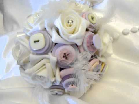 Button Bouquets from YourFairytaleWedding.co.uk