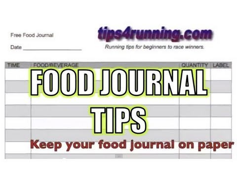 Food Journal - Keep Track of What You Eat