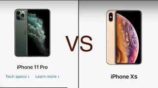 iPhone 11 pro vs XS ( comparison)