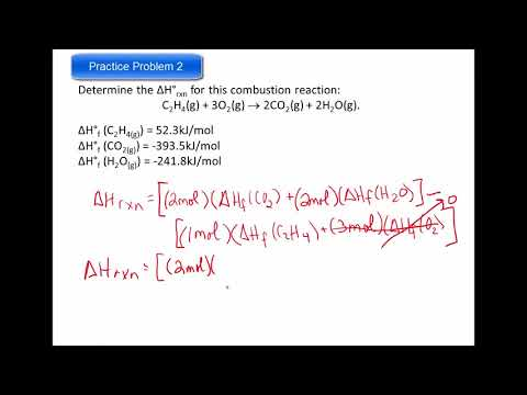 Enthalpy (Heat) of Reaction 2