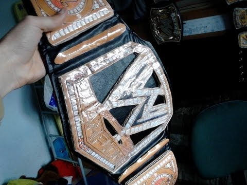 How to make the New WWE Championship belt part 2