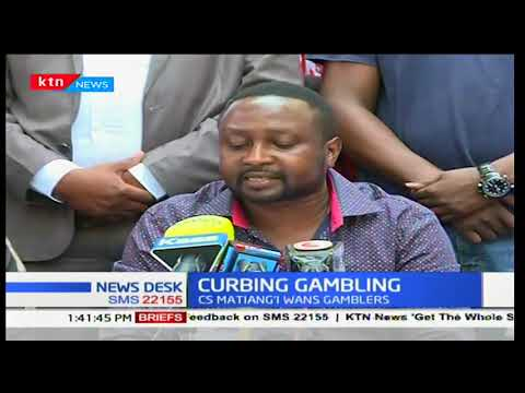 Entertainment Business Community criticizes Dr Fred Matiang'i's directive on gambling