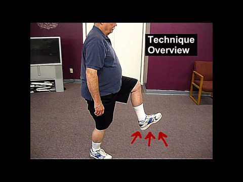 Fall Prevention Exercises (Balance Series) - Hip Hike Walking