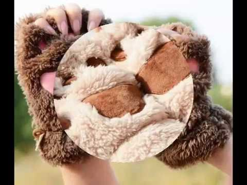 Limited Edition: Fluffy Cat Paw Gloves