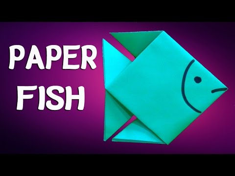 How to Make Paper Fish Step by Step.